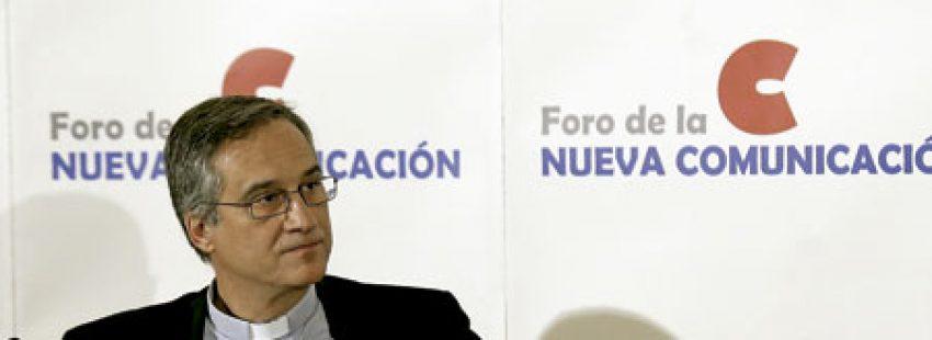 Dario Viganò, prefecto de la Secretaría de Comunicación de la Santa Sede, en España para presentar su libro Fidelidad es cambio