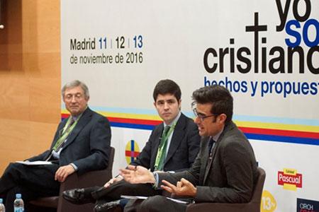 José Beltrán director de Vida Nueva participa en el 18 Congreso Católicos y Vida Pública noviembre 2016