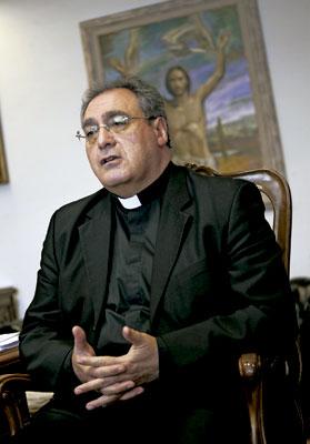 José María Gil Tamayo, secretario general y portavoz de la Conferencia Episcopal Española