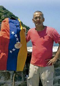 Manuel Rodríguez, venezolano exiliado en España
