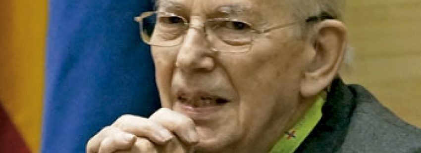 Michel Camdessus, exdirector del Fondo Monetario Internacional