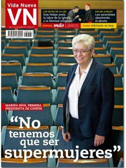 portada Vida Nueva Entrevista a Mariña Ríos, primera presidenta de CONFER 3013 noviembre 2016 Grande