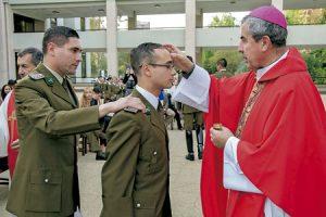 Santiago Silva Retamales, arzobispo castrense de Chile y presidente de la Conferencia Episcopal Chilena