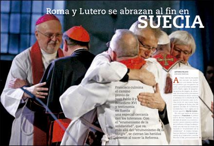 apertura A fondo VN Viaje papal a Suecia 3010 noviembre 2016