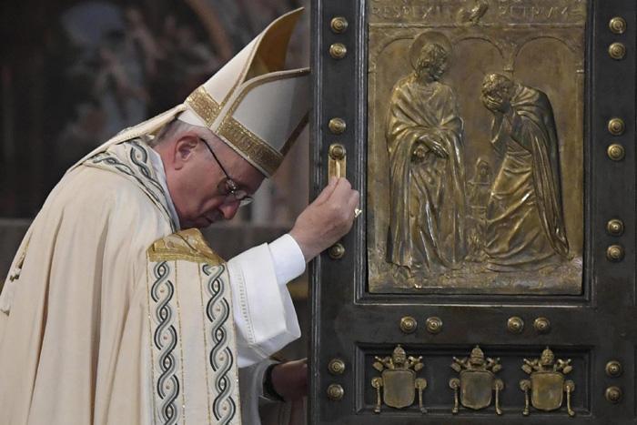papa Francisco misa conclusión Jubileo Año Santo Misericordia cierre de la puerta santa basílica de San Pedro