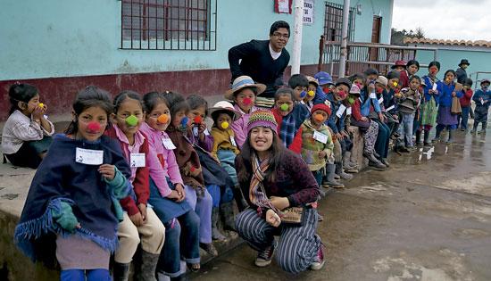 un proyecto para el desarrollo rural en Perú, sostenido por los marianistas