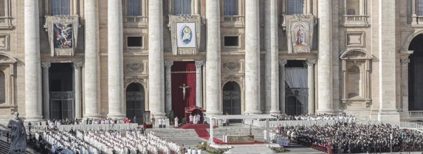 papa Francisco preside misa de clausura del Jubileo de la misericordia Plaza de San Pedro Vaticano 20 noviembre 2016