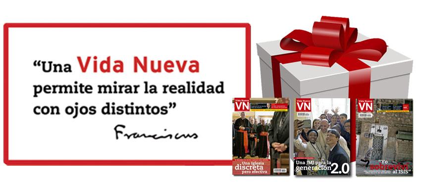 Revista Vida Nueva suscribirse con regalo noviembre diciembre 2016