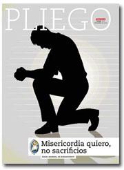 portada Pliego Misericordia quiero, no sacrificios 3010 noviembre 2016