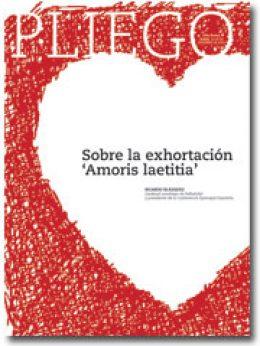 portada Pliego Sobre la exhortación Amoris laetitia cardenal Blázquez 3012 noviembre 2016