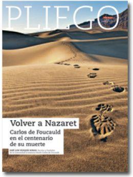 portada Pliego En el centenario de la muerte de Carlos de Foucauld 3014 diciembre 2016
