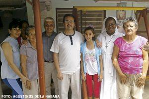 Aldo Marcelo Cáceres Roldán y agustinos en La Habana Cuba actividades pastorales desde hace diez años