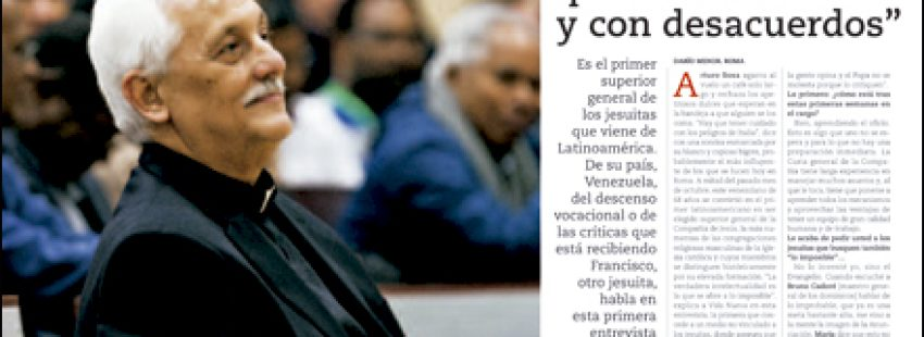 apertura A fondo Entrevista a Arturo Sosa, Sj