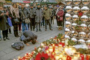 mercadillo de Navidad en Berlín donde se produjo un atentado con un camión 19 diciembre 2016
