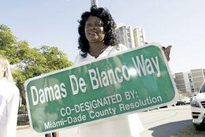 Berta Soler, presidenta de las Damas de Blanco en Cuba