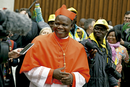 Dieudonné Nzapalainga, cardenal arzobispo de Bangui consistorio 19 noviembre 2016