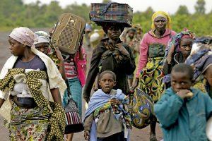 congoleños huyen de la violencia en República Democrática del Congo noviembre 2016