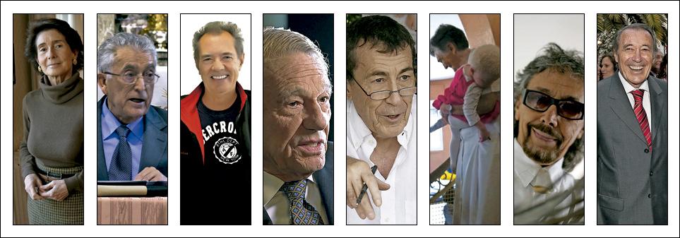 ocho personajes de la generación de Jorge Mario Bergoglio