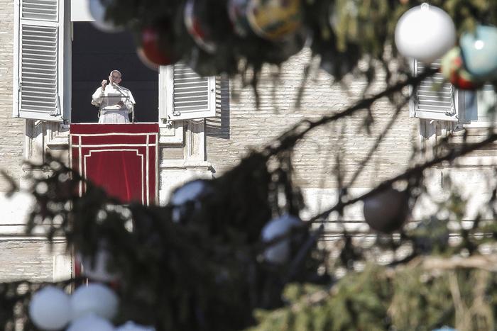 papa Francisco angelus festividad de san Esteban protomártir 26 diciembre 2016