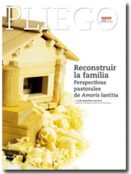 portada Pliego Adelando del libro del cardenal Sistach sobre Amoris laetitia 3015 diciembre 2016