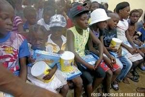 padre Fredy sostiene proyectos de desarrollo en Haití Hogar Niños de Esperanza en Carrefour