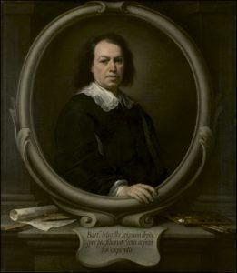 autorretrato del pintor barroco Bartolomé Esteban Murillo