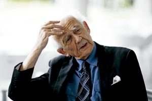 Zygmunt Bauman, sociólogo e intelectual, creador del término modernidad líquida, fallecido en enero 2017