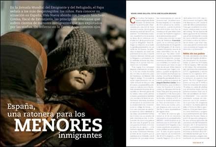 apertura A fondo Menores inmigrantes en España 3018 enero 2017