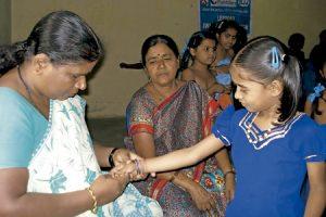 enfermos de lepra en India