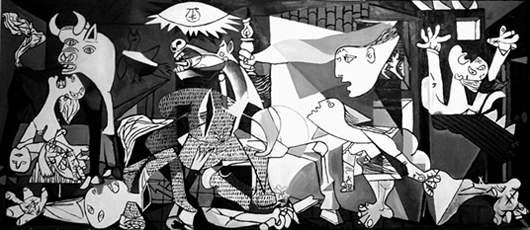 Guernica, cuadro de Pablo Ruiz Picasso