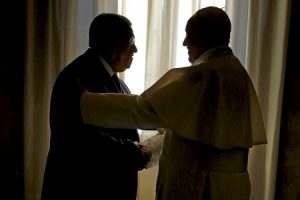 papa Francisco recibe a Mahmoud Abbas líder palestino enero 2017