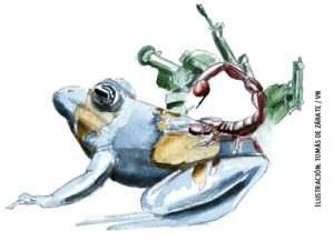 ilustración de Tomás de Zárate para el artículo de María de la Válgoma 3019
