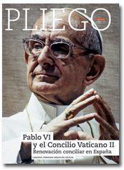 portada Pliego Pablo VI y la renovación conciliar en España 3019 enero 2017