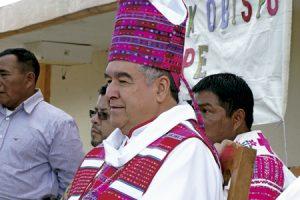 Felipe Arizmendi, obispo de San Cristóbal de las Casas, Chiapas, México
