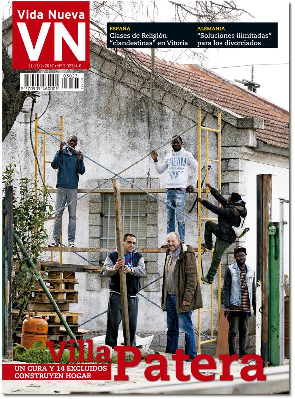 portada Vida Nueva Villa Patera Jorge de Dompablo acoge 14 inmigrantes 3023 febrero 2017 Grande