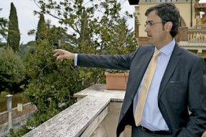Sergio Rodríguez López-Ros, director del Instituto Cervantes en Roma