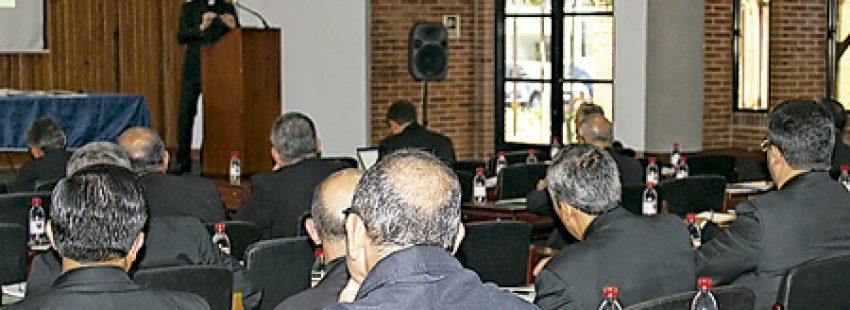 obispos de Colombia asisten a un curso para luchar contra los abusos sexuales impartido por Jordi Bertomeu, oficial de la sección disciplinaria de la Congregación para la Doctrina de la Fe febrero 2017