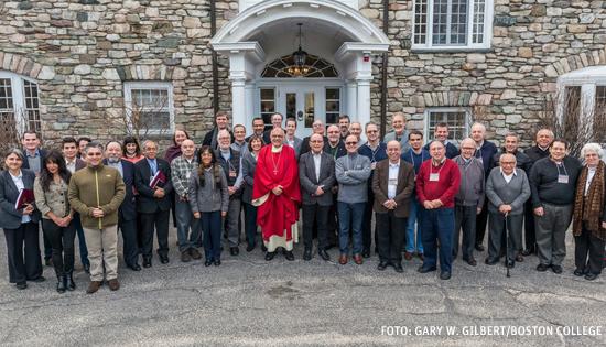 participantes en el Primer Encuentro Iberoamericano de Teología Boston 6-10 febrero 2017