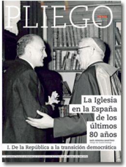 portada Pliego La Iglesia en la España de los últimos 80 años 3023