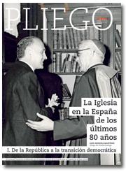 portada Pliego La Iglesia en la España de los últimos 80 años