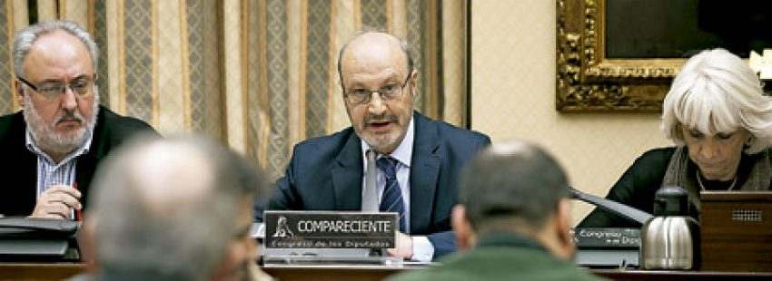 José María Alvira marianista secretario general de Escuelas Católicas intervención ante la Subcomisión parlamentaria Pacto Educativo marzo 2017