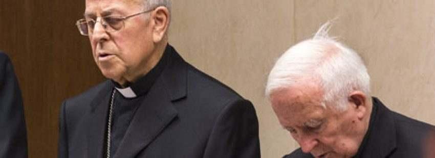 Ricardo Blázquez y Antonio Cañizares inauguración de la 109 Asamblea Plenaria de la CEE 13 marzo 2017
