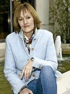 Henar Ortiz, escritora, tía de la reina Letizia