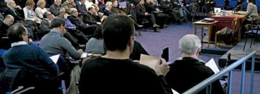 XXXVI Encuentro de Obispos, Vicarios y Arciprestes de la Iglesia en Castilla en Valladolid para hablar de pastoral familia y Amoris laetitia marzo 2017