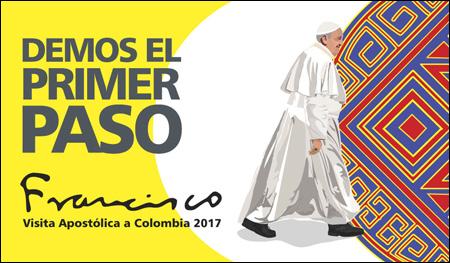 imagen de la visita del papa Francisco a Colombia 6 11 de septiembre 2017