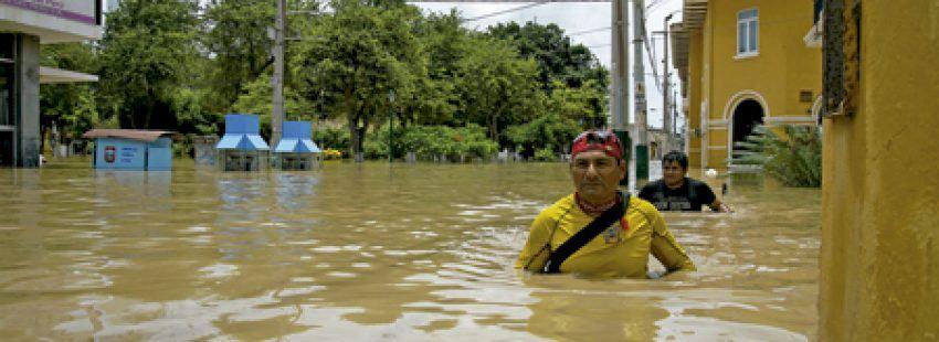 inundaciones en Perú por el fenómeno Niño Costero