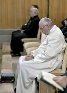 papa Francisco ejercicios espirituales de la Curia marzo 2017