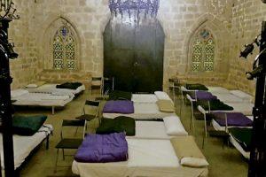 parroquia Santa Anna en Barcelona acogida a los sin techo