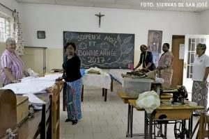 proyecto de las Siervas de San José en República Democrática del Congo promoción de la mujer