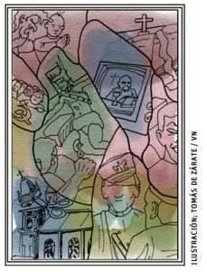 ilustración de Tomás de Zárate para el artículo de Francisco Vázquez 3030